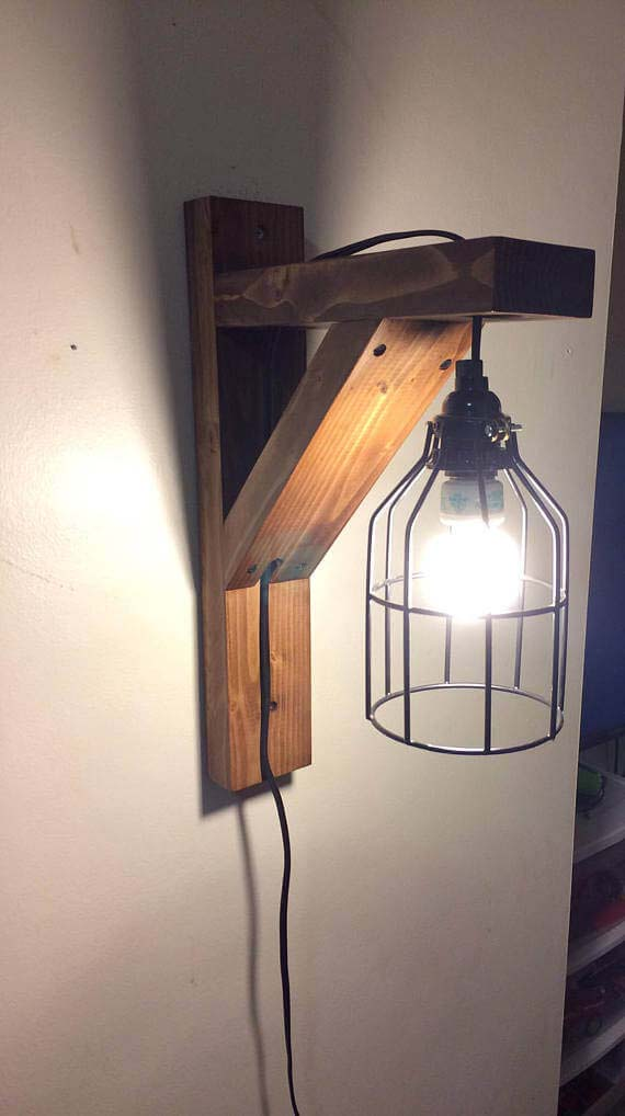 Simple Mission Style Industrial Lighting #corbel #decoration #decorhomeideas
