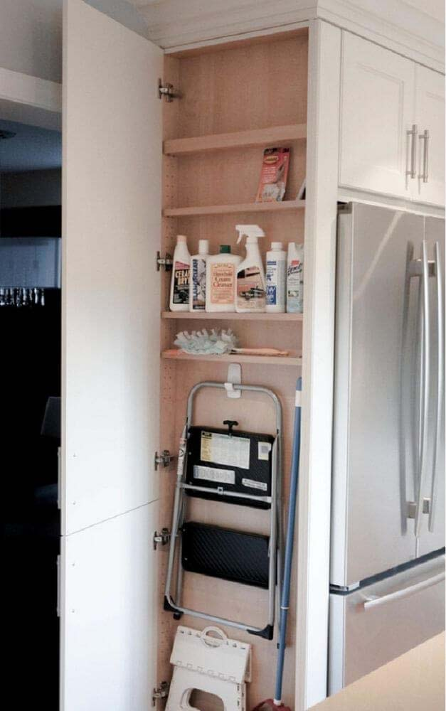 Space Saving Idea for Home Closets #spacesaving #storage #organization #decorhomeideas