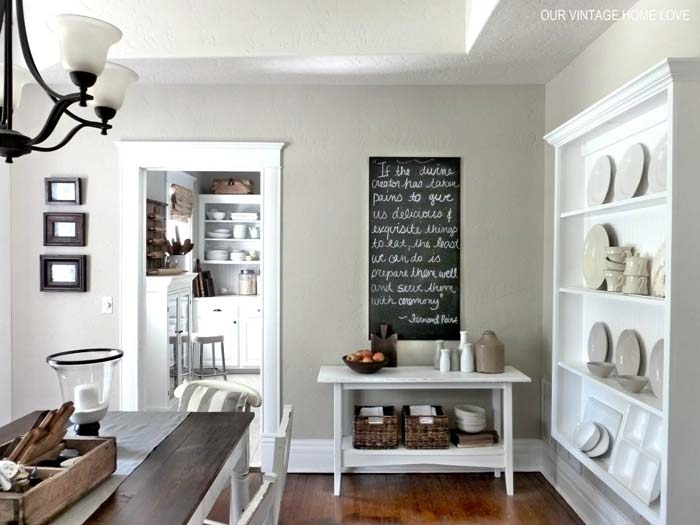 Storage Solutions for Neutral Decors #diningroom #storage #decorhomeideas