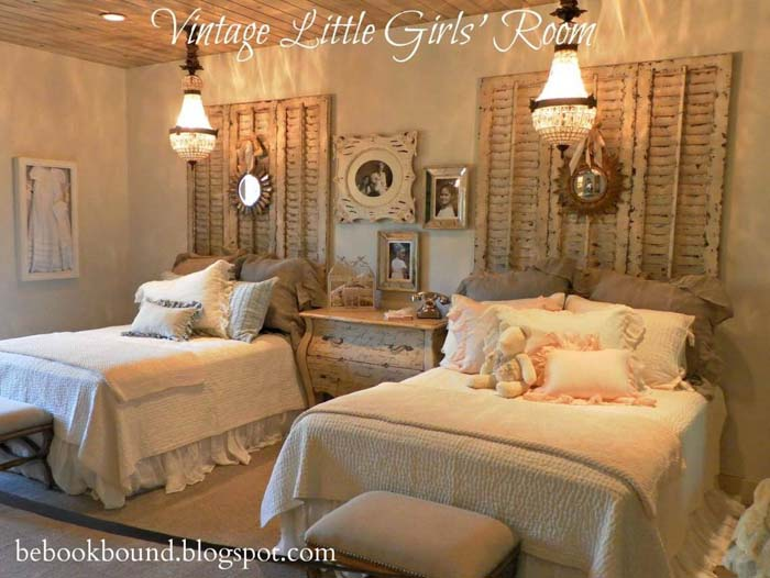 A Vintage Bedroom for Two #bedroom #vintage #decor #decorhomeideas