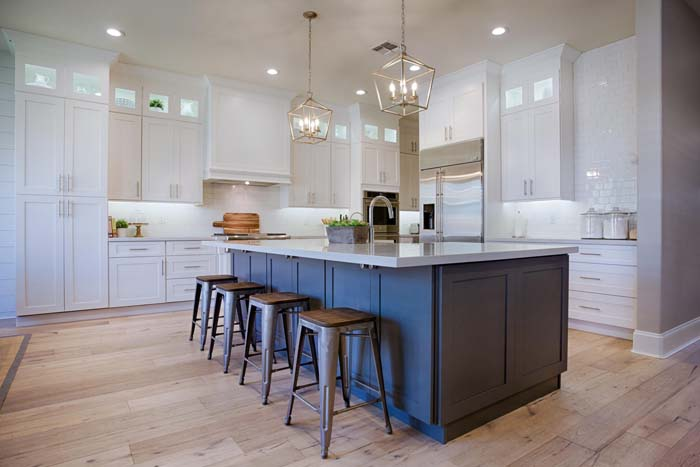Affordable White Kitchen Cabinets #farmhouse #kitchen #cabinet #decorhomeideas