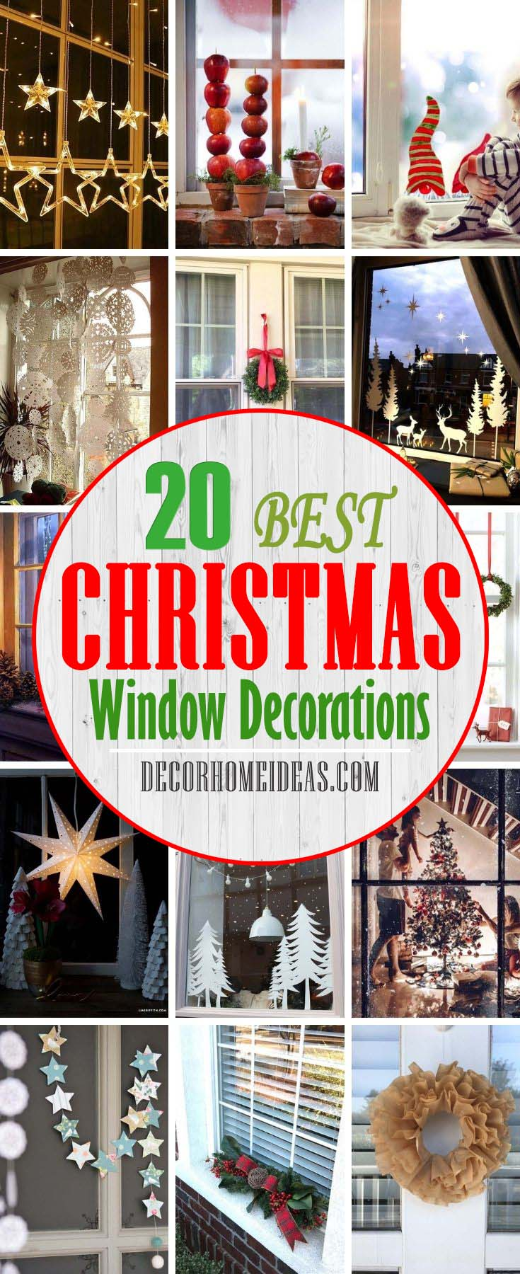 Best Window Christmas Decorations. When it comes to Christmas decorations, it's easy to overlook your windows. See these 20+ chic window decorating ideas to show off your holiday spirit.