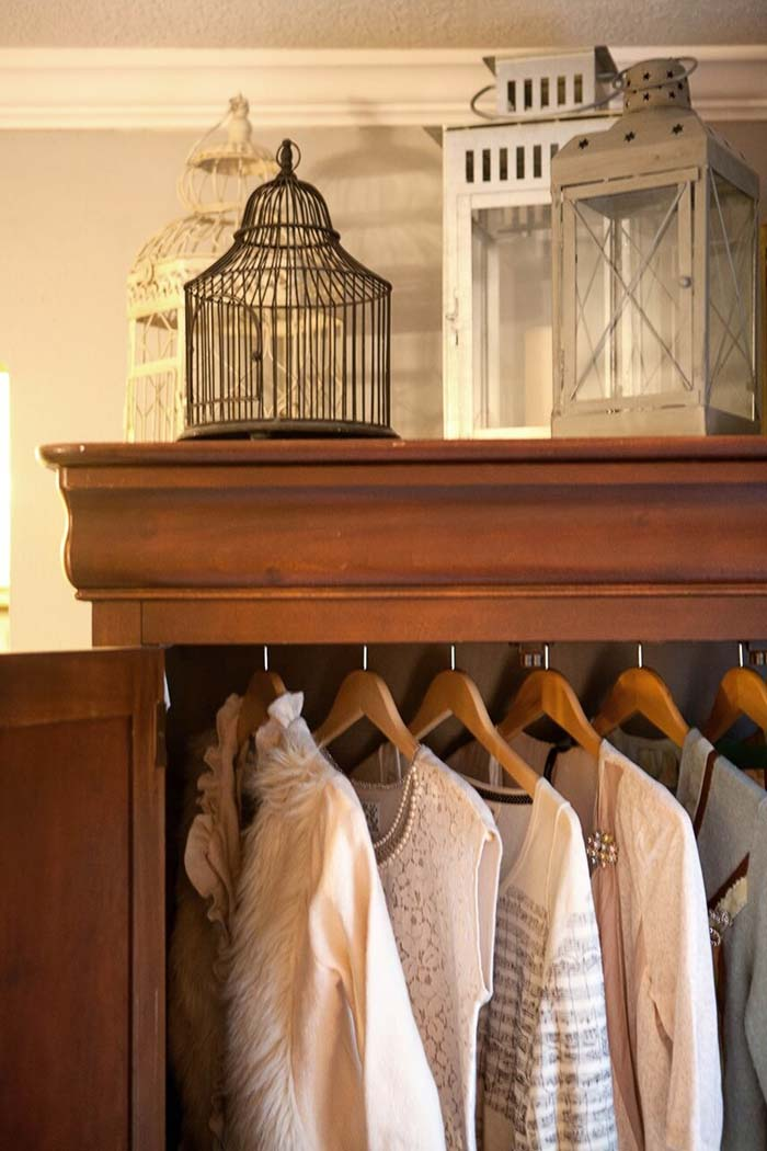 Old-fashioned Lantern Display #bedroom #vintage #decor #decorhomeideas