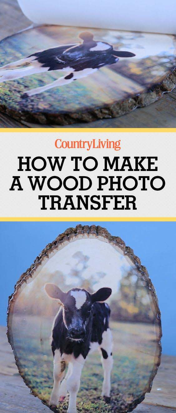 Transferring Pictures to Wood Plaque #diy #wood #crafts #decorhomeideas