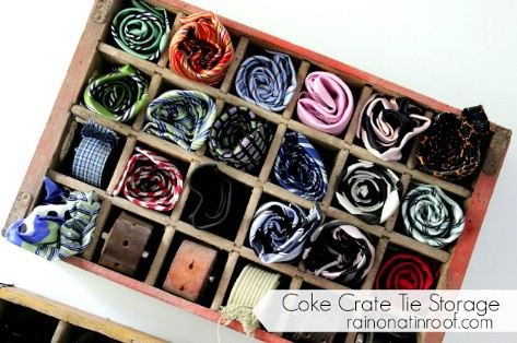 Make Your Own Tie Holder #organization #storage #home #decorhomeideas