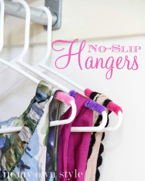 Stop Your Clothes From Falling Off Your Hangars #organization #storage #home #decorhomeideas