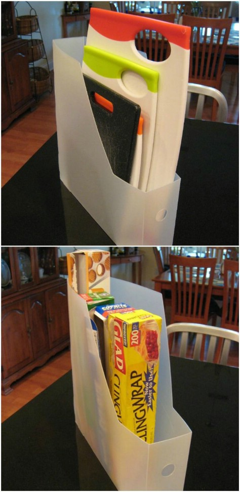 Bring Out Those Magazine Holders Again #organization #storage #home #decorhomeideas