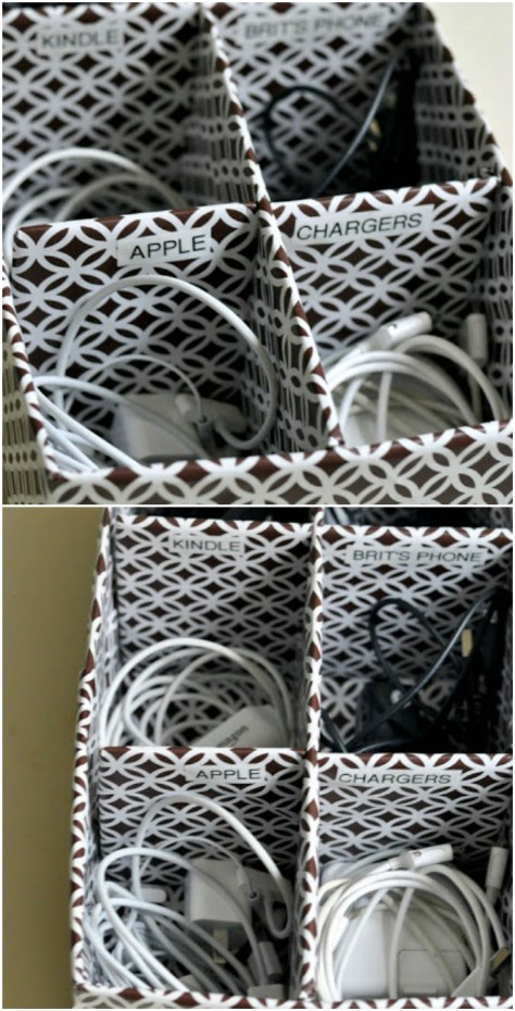 Create A Diy Cable Box #organization #storage #home #decorhomeideas