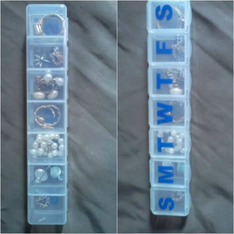 Jewelry Travel Solution Pill Box #organization #storage #home #decorhomeideas