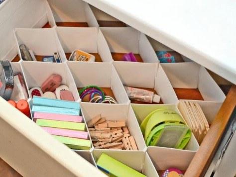 Try Using Drawer Dividers #organization #storage #home #decorhomeideas