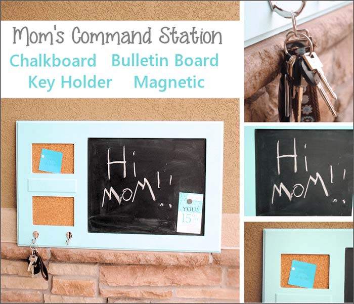 Keep The Family Organized With This Great Diy Command Station #organization #storage #home #decorhomeideas