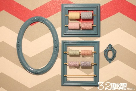 Store Twine Using A Picture Frame #organization #storage #home #decorhomeideas