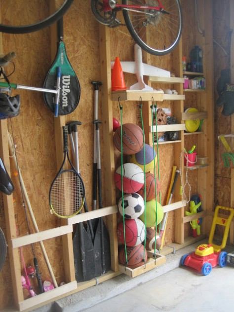 Try Some Bungee Cord Storage #organization #storage #home #decorhomeideas