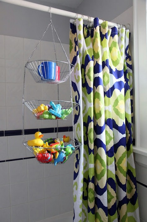Store Bath Toys The Easy Way #organization #storage #home #decorhomeideas