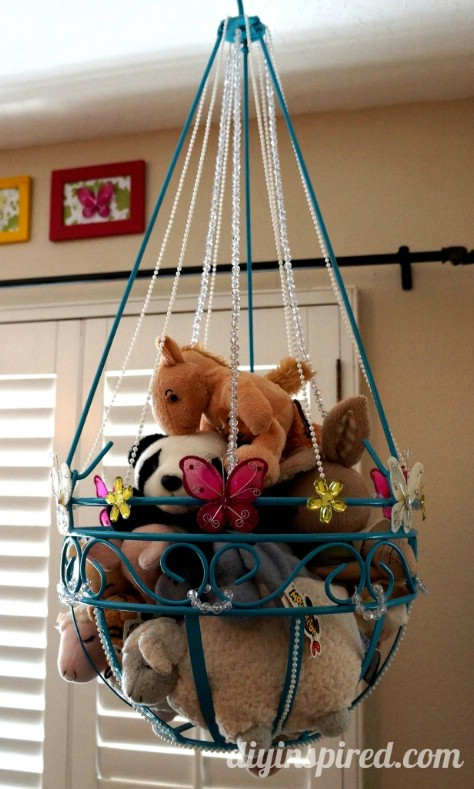 Repurpose A Plant Hanger For Childrens Toys #organization #storage #home #decorhomeideas