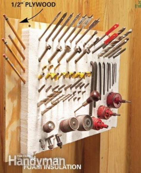 Create Pincushion For Your Tools #organization #storage #home #decorhomeideas