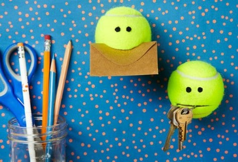 Get These Adorable Tennis Balls To Hold Your Keys And Other Loose Items #organization #storage #home #decorhomeideas