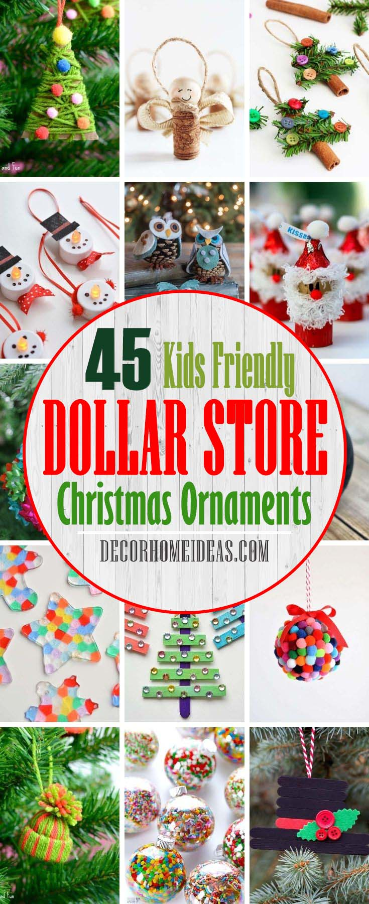 Best Dollar Store Christmas Ornaments To Do With Kids. Discover the Best <a href=