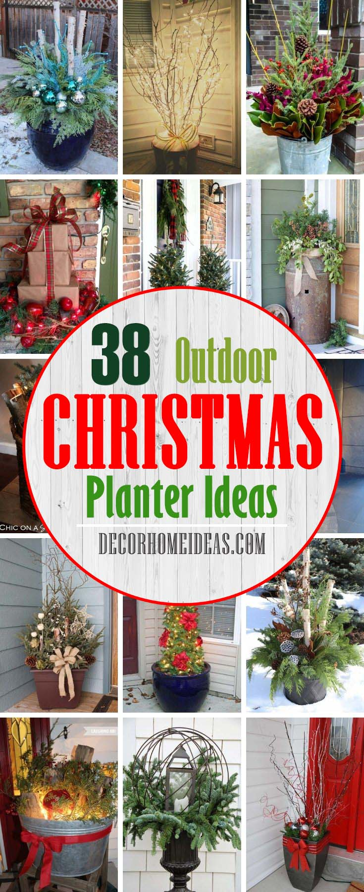 Best Outdoor Holiday Planter Ideas. How to <a href=