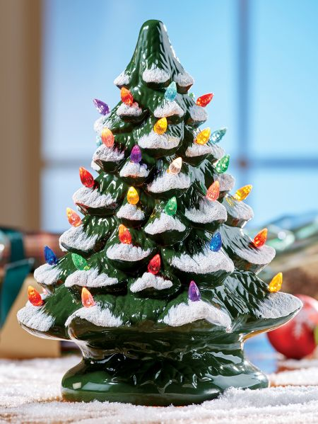 Ceramic Christmas Tree Idea