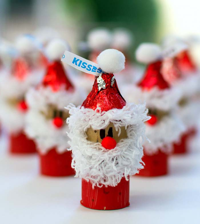 Christmas Kiss Crafts #Christmas #ornaments #kids #diy #decorhomeideas