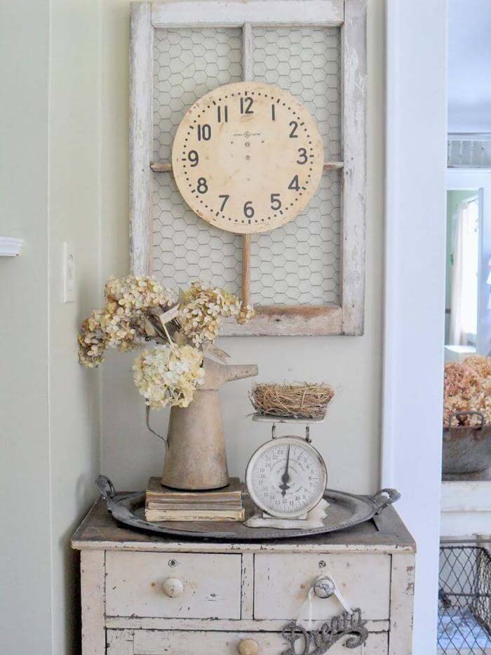 A Cluster of Country Store Décor #farmhouse #furniture #decorhomeideas