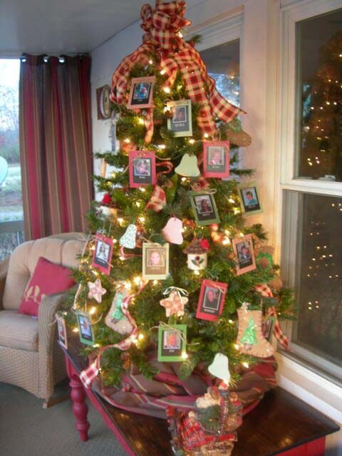 DIY Paper Bells & Picture Ornaments #Christmastree #outdoor #decorhomeideas