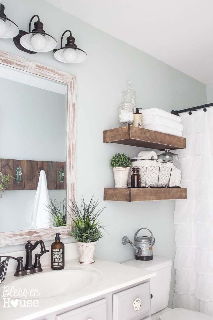 French Country Design Ideas for the Bathroom #frenchcountry #decor #decorhomeideas