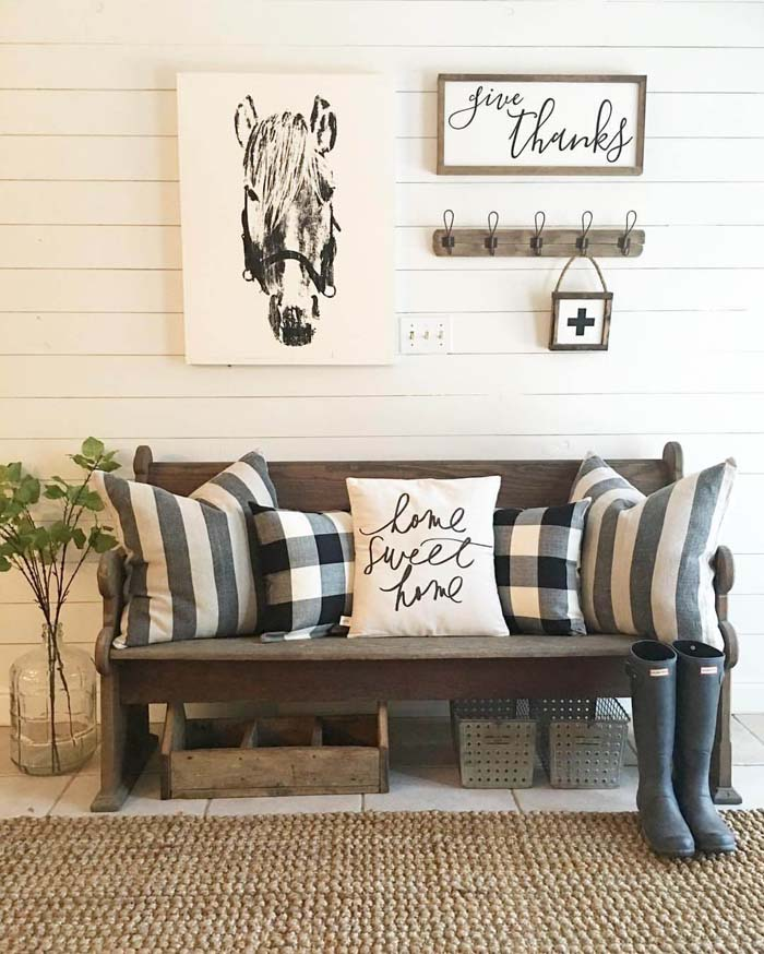 Give Thanks for Country Living #farmhouse #furniture #decorhomeideas