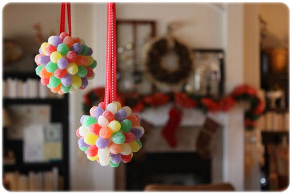 Gum Drop Ornaments #Christmas #ornaments #kids #diy #decorhomeideas