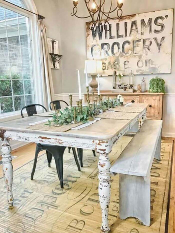 If This Table Could Talk #farmhouse #furniture #decorhomeideas
