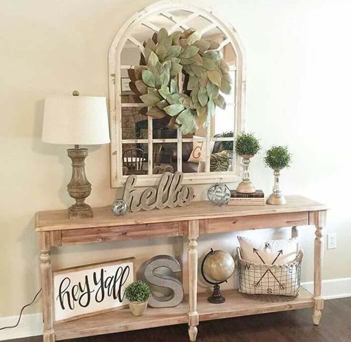 Many Ways to Say Hello #farmhouse #furniture #decorhomeideas