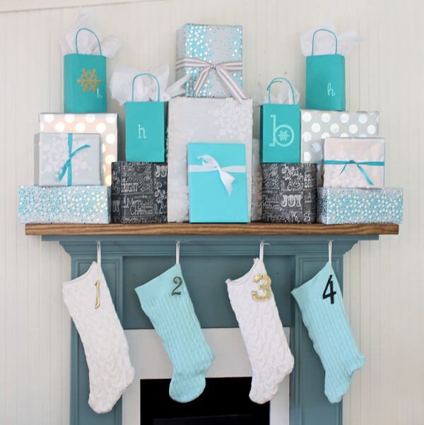 Playful Mantle Piece Gift Display 1