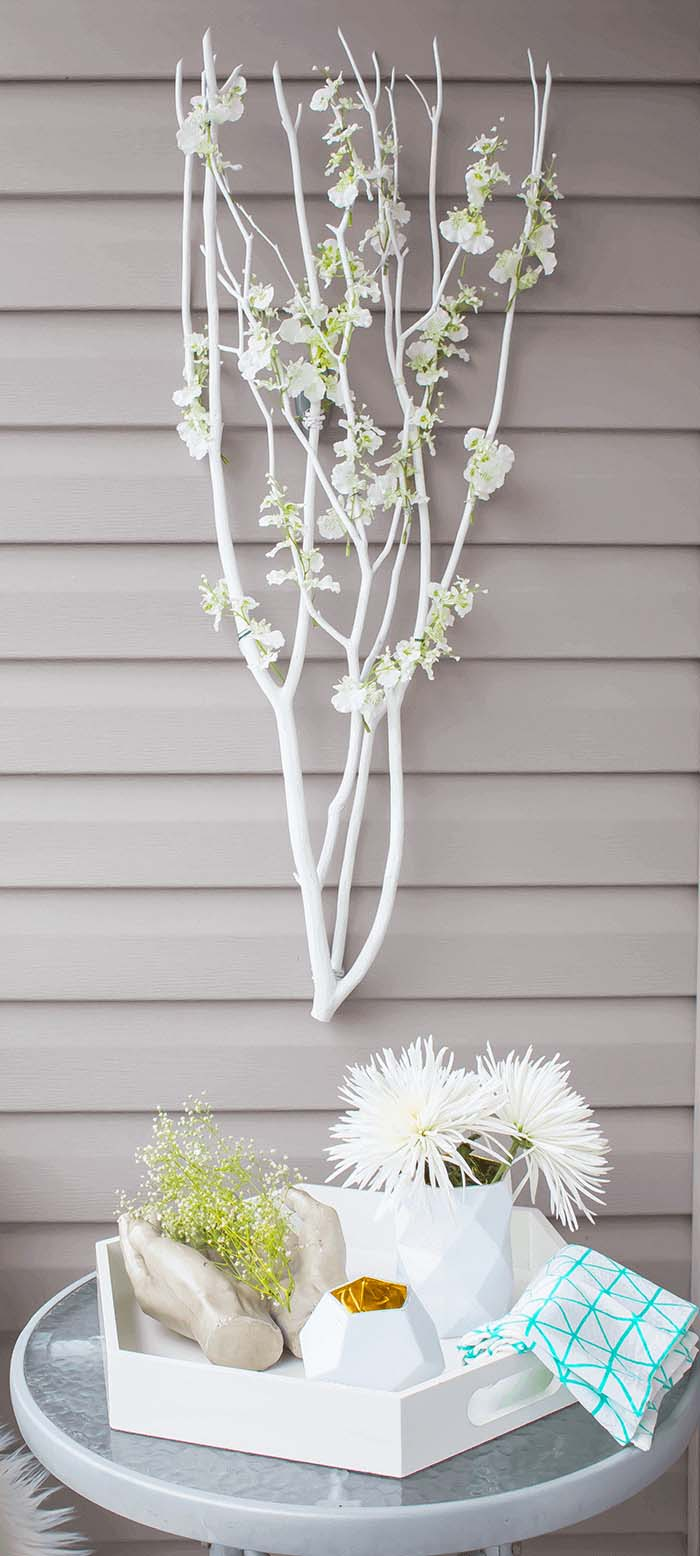 Poet's Garden Floral Branch Wall Hanging #branches #homedecor #decorhomeideas