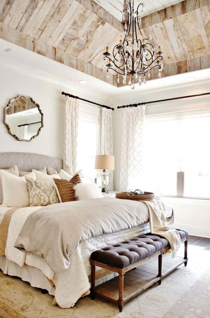 Stunning French Country Inspired Bedroom #frenchcountry #decor #decorhomeideas