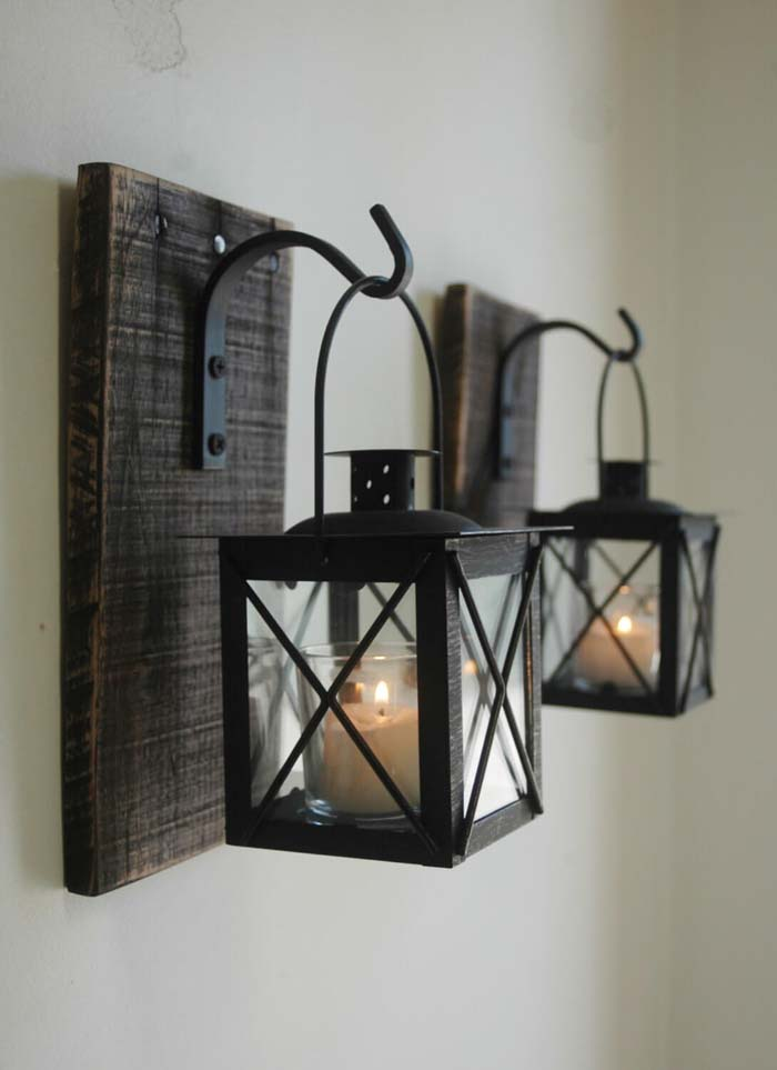 Sweet Sophistication with Hanging Lantern Votives #farmhouse #furniture #decorhomeideas