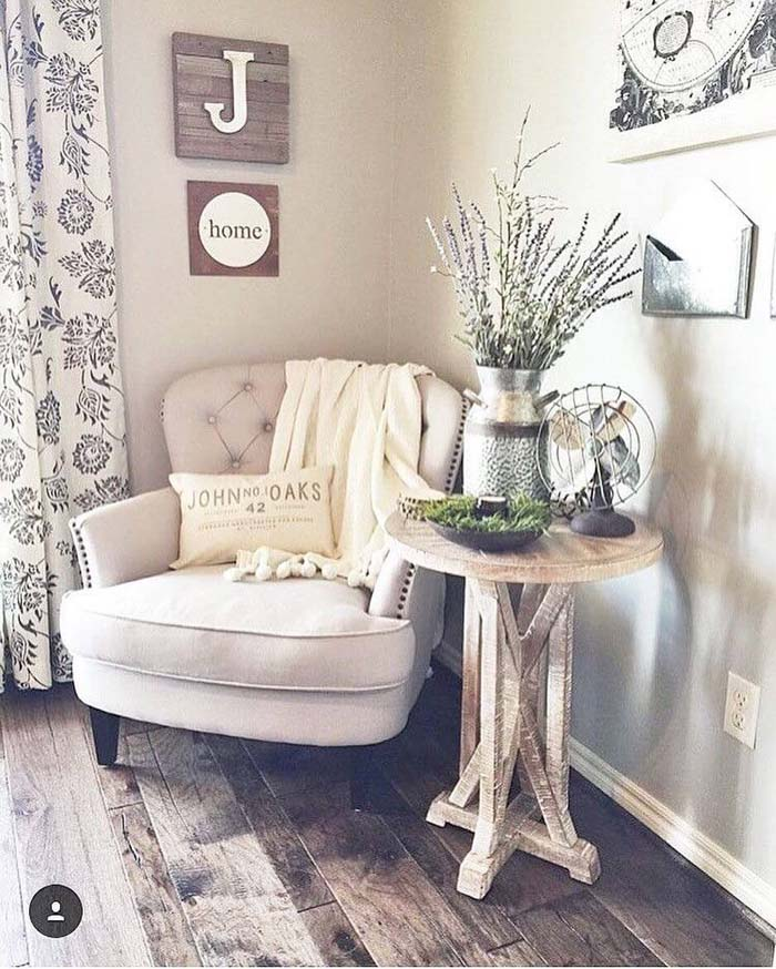 The Best Seat in the House #farmhouse #furniture #decorhomeideas