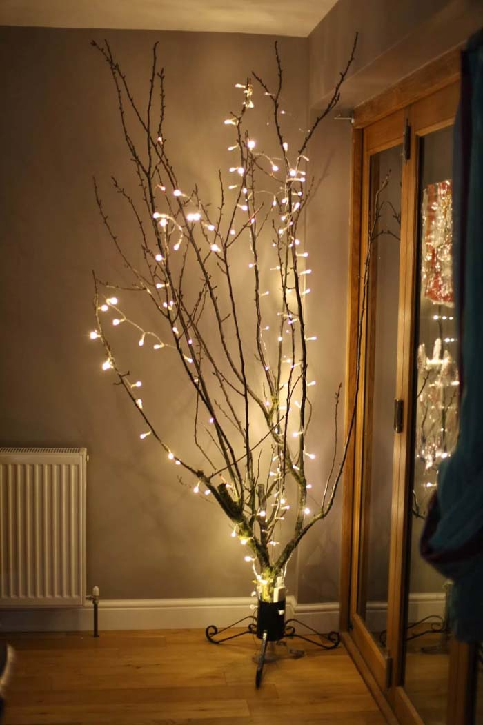 Tree Of Light Illuminated Lamp #branches #homedecor #decorhomeideas