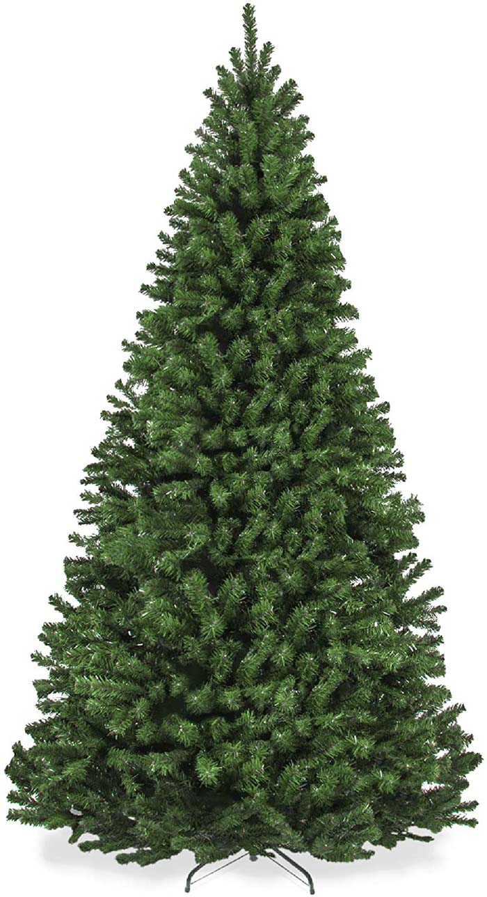 7.5ft Premium Spruce Artificial Christmas Tree #Christmas #Christmastree #artificialtree #decorhomeideas