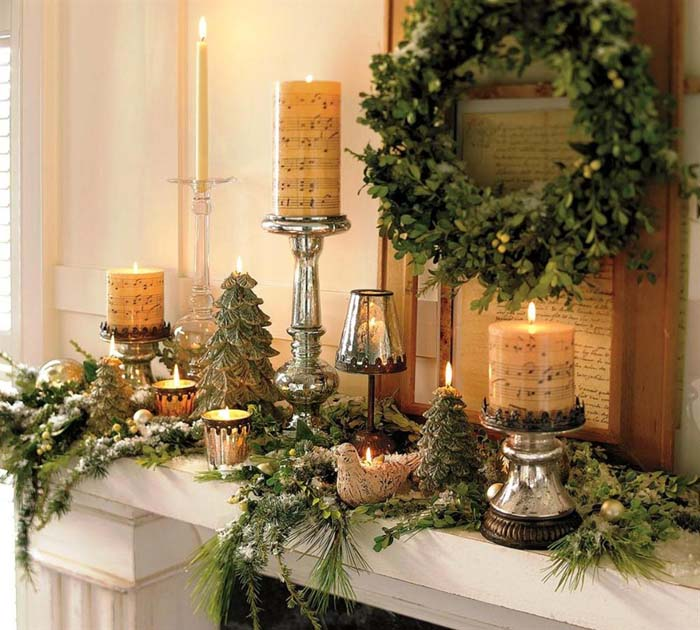 A Christmas Melody for All #Christmas #indoordecorations #decorhomeideas