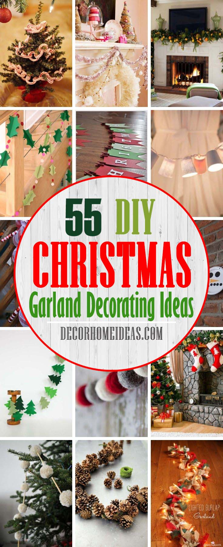 Best DIY Christmas Garland Decorating Ideas. Garland may be one of the most quintessential Christmas decorations you can have in your home during the holiday season, not counting your tree, of course. You may want to DIY your own to match your other decor, or opt for a more classic store-bought look. #decorhomeideas