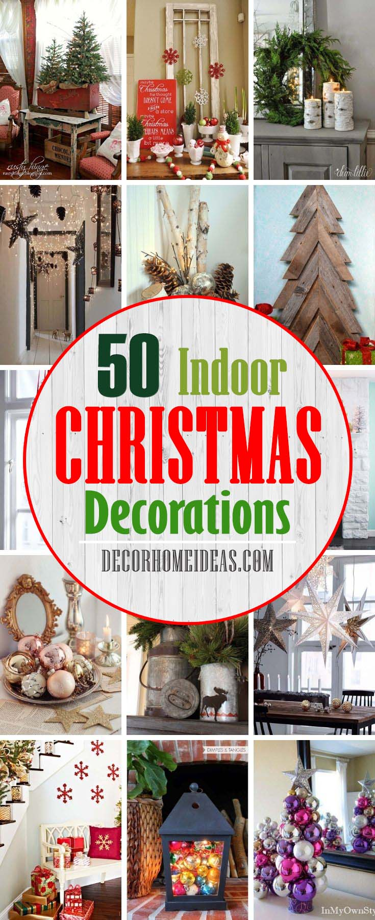 Best Indoor Christmas Decorations. Get inspired with these beautiful Christmas decoration ideas that will turn your home, from dull and plain, into majestic and fabulous one. #decorhomeideas