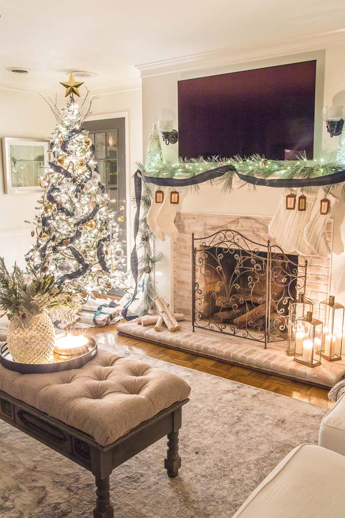Christmas Candlelight Night Tour #Christmas #cheap #elegant #decorhomeideas