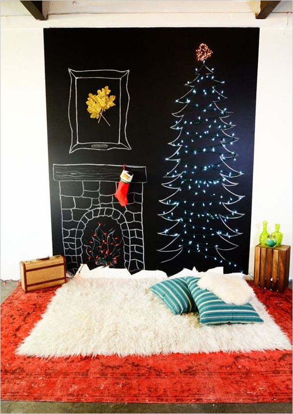 Create Your Own Holiday Cheer #Christmas #indoordecorations #decorhomeideas