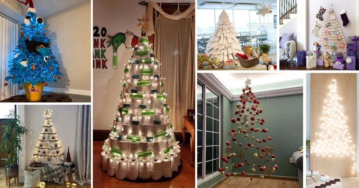 Non Traditional Christmas Tree Ideas