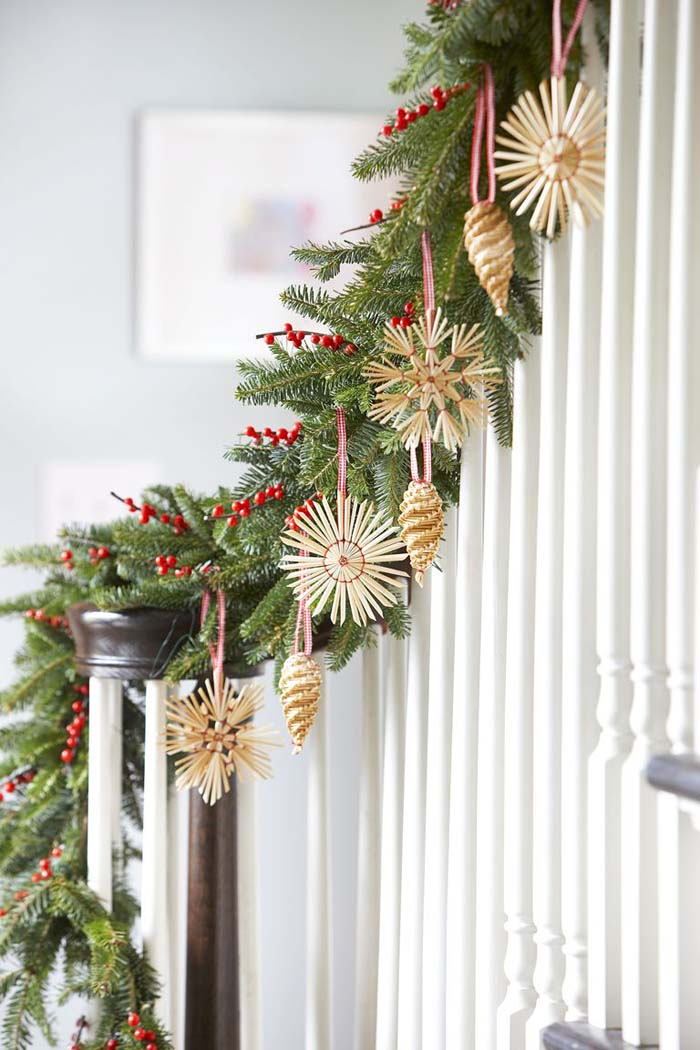 Step Up the Entryway #Christmas #style #decorhomeideas