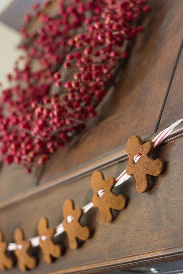 String Up Christmas Cookies #Christmas #style #decorhomeideas