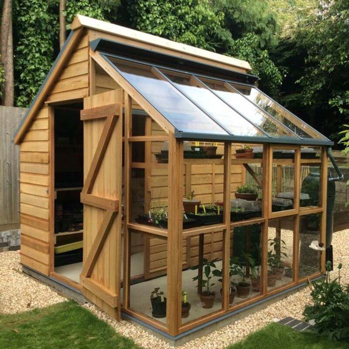 A Greenhouse Storage Shed for your Garden #shed #garden #decorhomeideas