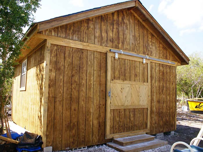 A Large, Barn-Like Storage Shed #shed #garden #decorhomeideas