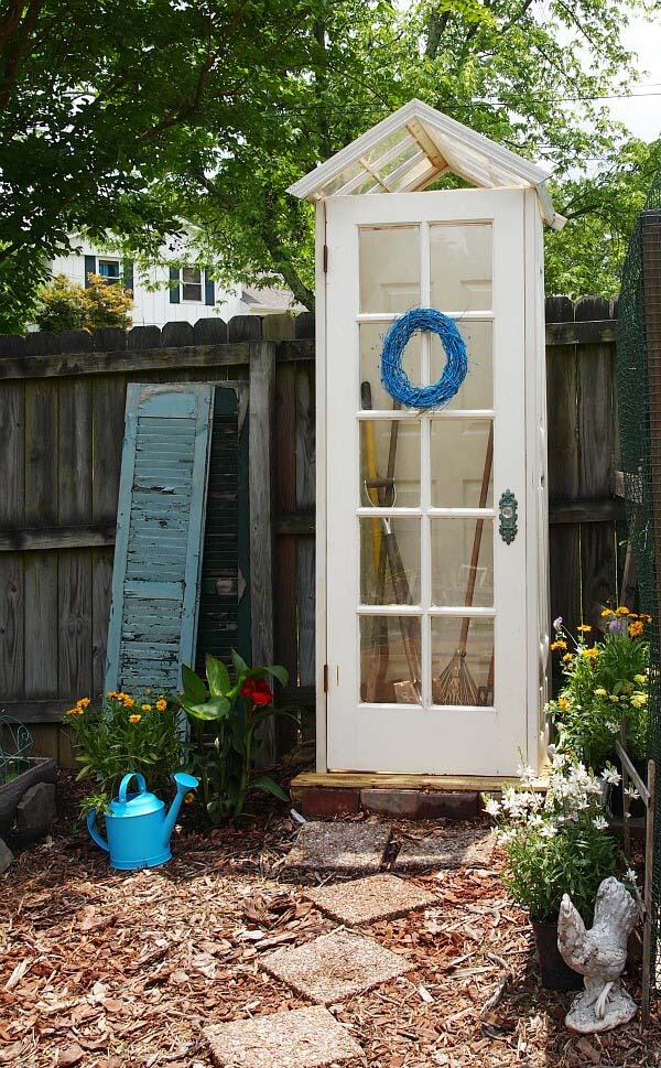 A Tiny House for Your Garden Tools #shed #garden #decorhomeideas
